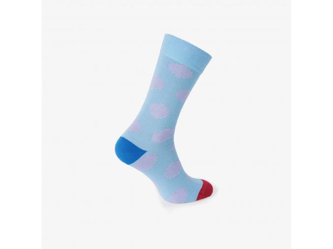 Nerozlučné ponožky modré - MIAMI SUNSET