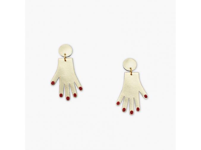 BENU MADE Hand earrings 1