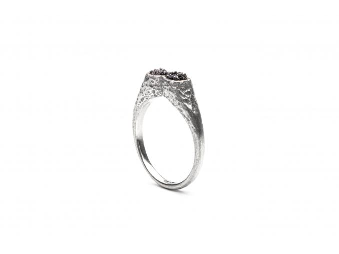 Schicker Silver Rough Stones galenit