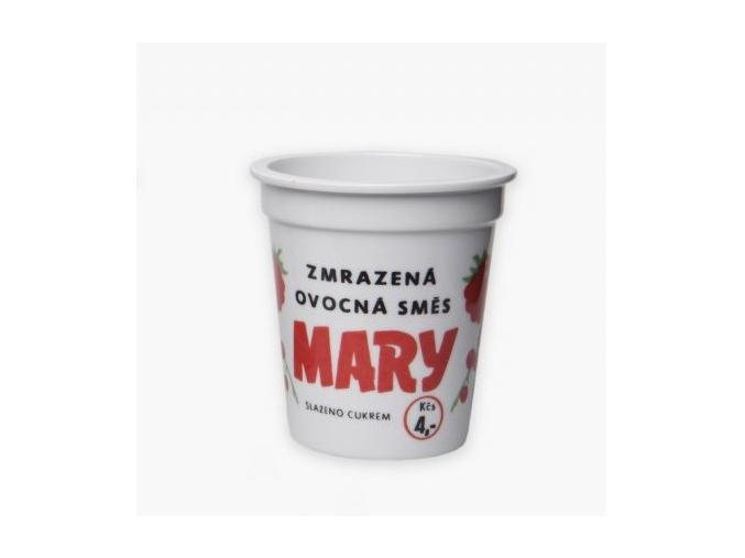 Porcelánový kelímek zmrazená ovocná směs Mary
