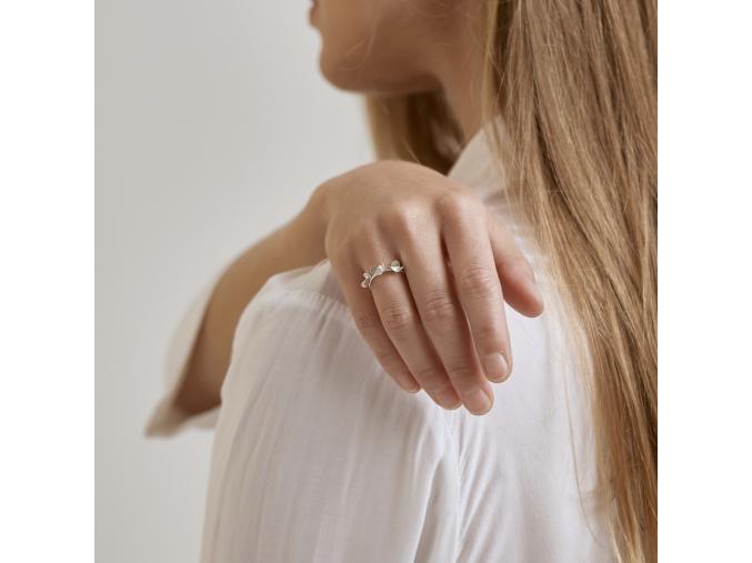 Prsten trojitý trojlístek