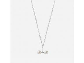 Řetízek Double pearl