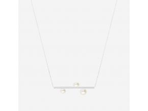 Řetízek Three pearls
