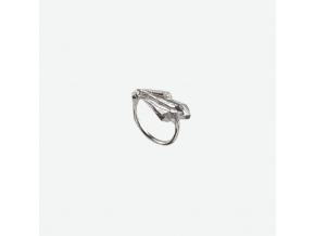 prsten listy Ag