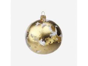 Vánoční baňka zlatá