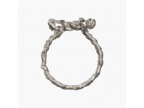 Tordovaný prsten s mašlí (Ag 925/1000)