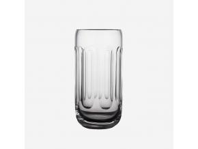 Pivní sklenice - půllitr fazety