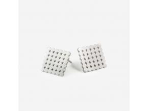 Náušnice PO 6x6 (Ag 925/1000)