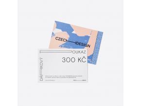 Dárkový voucher na nákup českého designu
