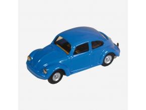 VW brouk modrý s pohonem na klíč