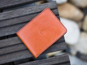 Kožená peněženka Slim na karty