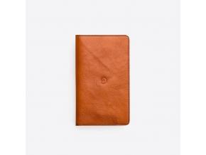Kožená peněženka s pouzdrem na iPhone 6 Plus