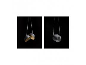 Nemesis náhrdelník carbon (větší)