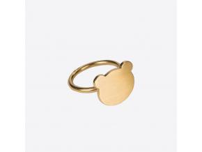 Nastassia Aleinikava prsten medvidek 01