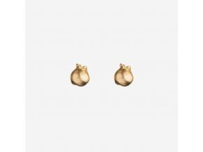 Náušnice pozlacené borůvky