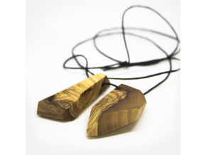 Bajkajlaj dřevěný šperk se 2