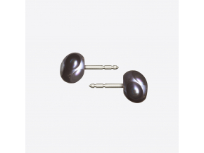 Zorya CUT STUD EARRINGS black tinged 01