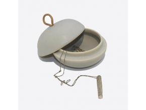 CD šperk šedý2