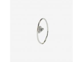 Prsten srdíčko ležaté 2