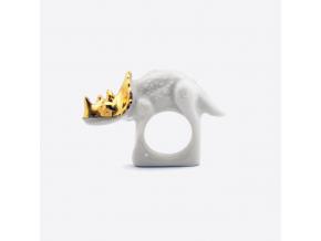 Minka prsten triceratops zlaty 01