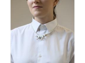 Minka nahrdelnik jednorozec zlaty perly 1 01