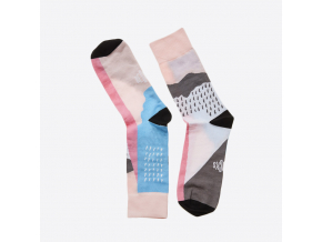 Ponožky Rain 2 - růžové