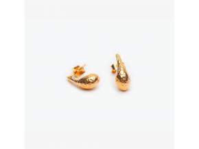 Náušnice lodičky *003 pozlacené