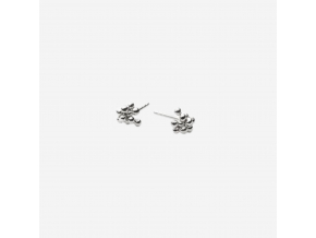 Náušnice hrozinky/granulky malé (Ag 925/1000)