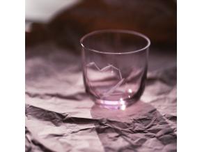 Skleničky LOVE Pink - sada 2 ks