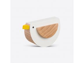 Neposedný ptáček - bílý