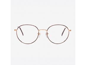 Brýle 132 Charmant Gold Titanium