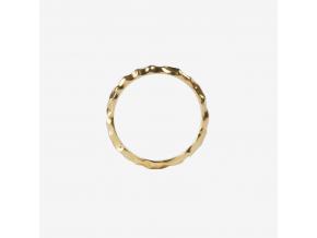 Prsten Root jednoduchý pozlacený