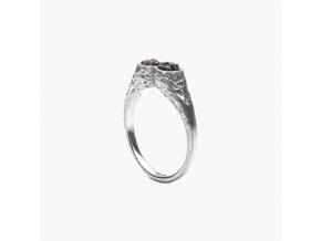 Prsten s kameny galenit Adéla Schicker