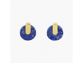 Adamantine earrings lapis METAFORMI