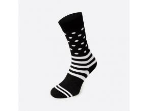 Nerozlučné ponožky bambusové - PANDA
