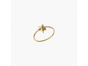 Prsten hvězda velká pozlacená Janja Prokić