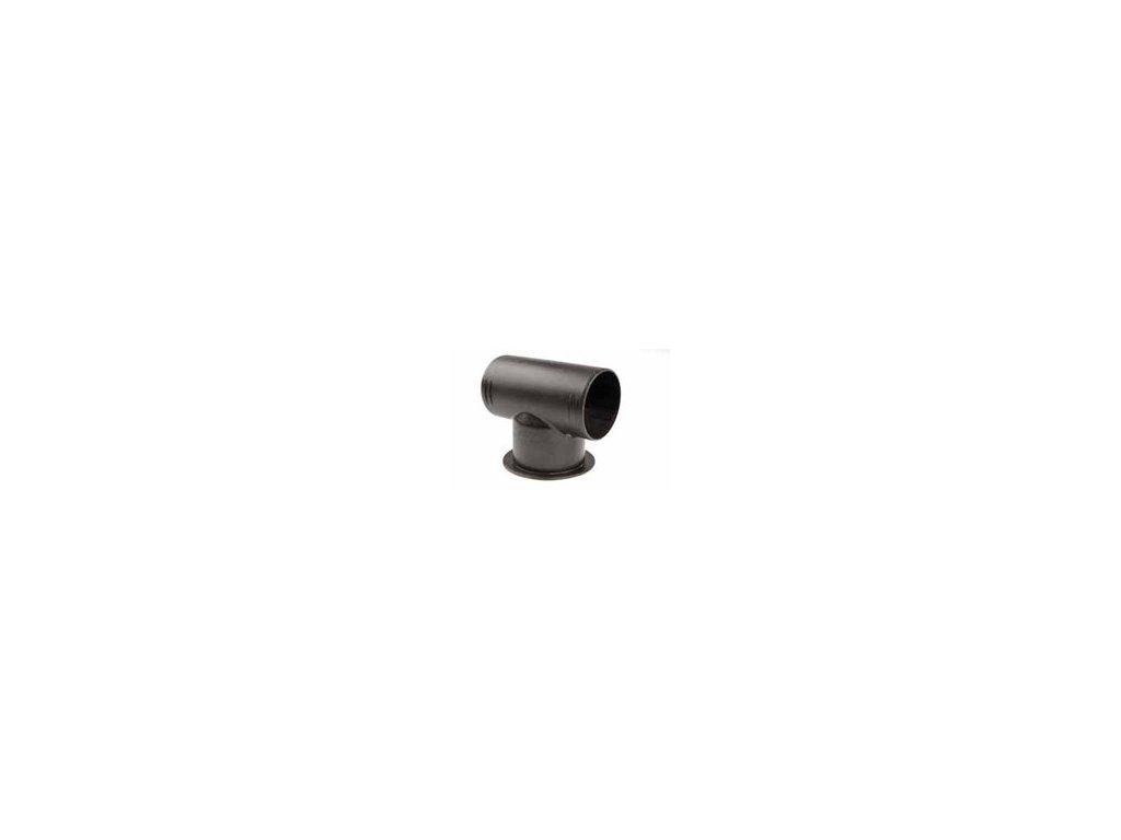 Rozbočovač D60/d60/D60 so závitom (T-kus)