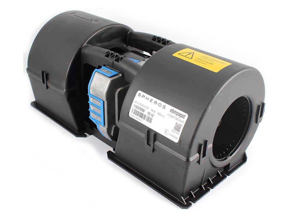 Ventilátor radiálny