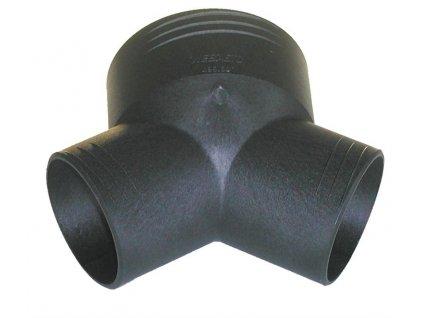 Rozbočovač D80/55/55 (Y-kus)