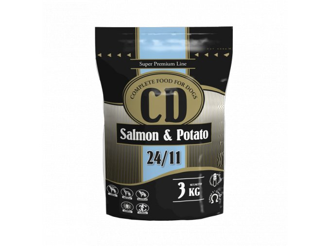 CD Salmon and Potato 3kg