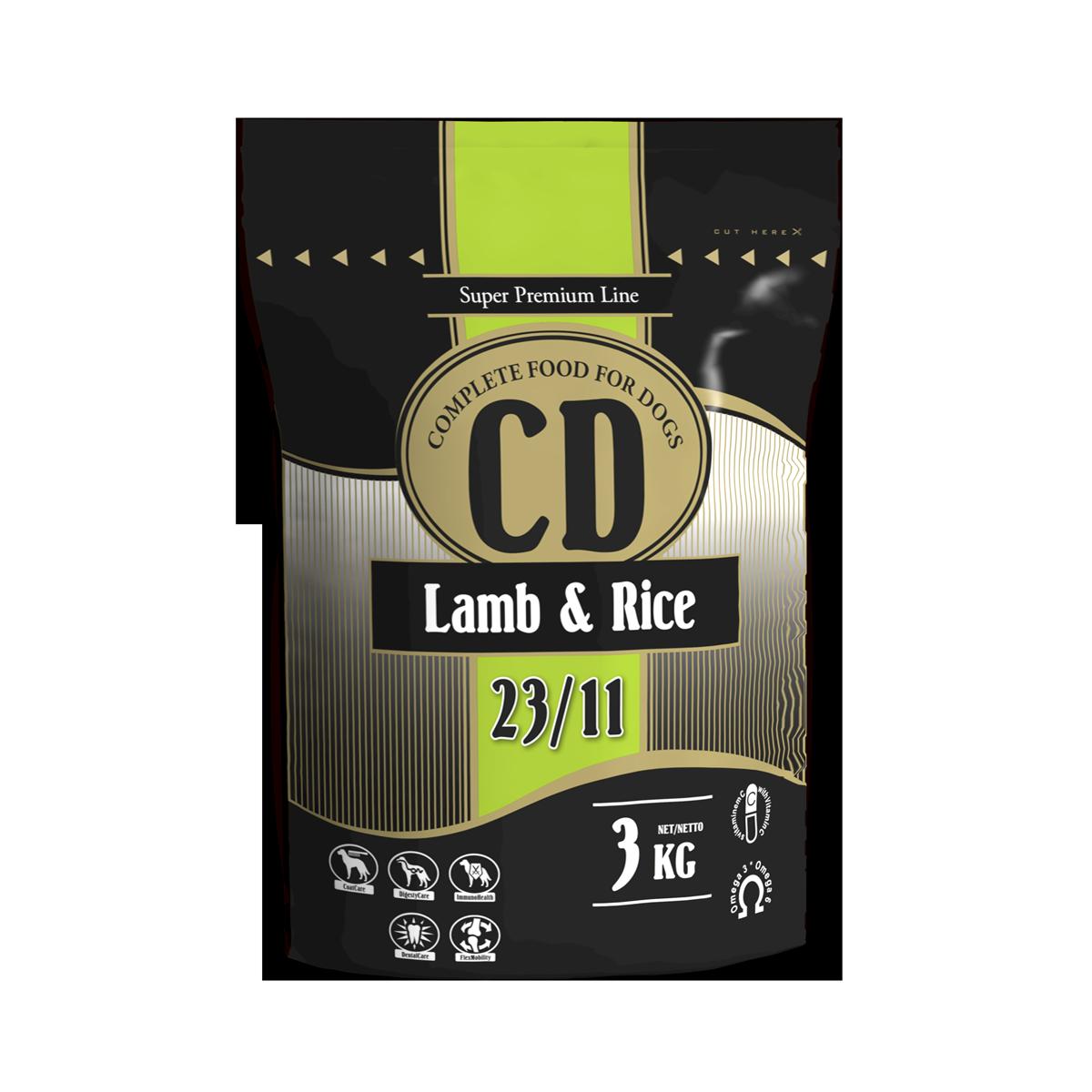 Delikan CD Lamb and rice 3 kg