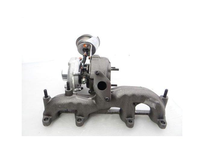 Turbodmychadlo Garrett GT 1749 V (S2) – 1.9 TDI 66, 74, 81, 85 kW (ALH, ATD, ASV, AJM, AUY)