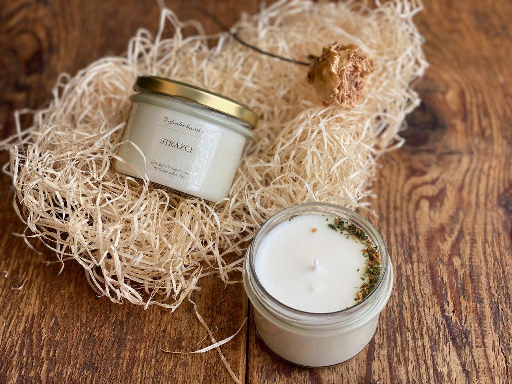 Přírodní sójová svíčka - Strážce