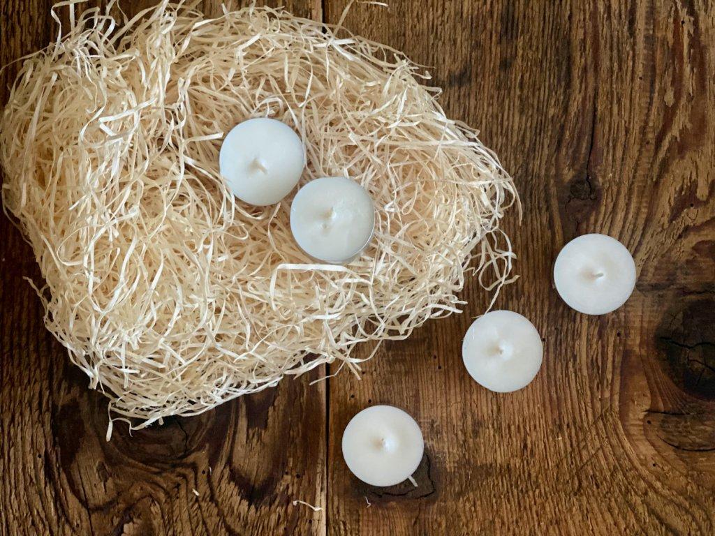 Přírodní sójová svíčka - ČAJOVÁ