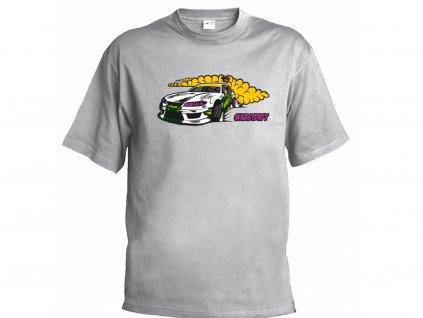 #KRSTDRFT Dětské tričko šedé (Velikost 9 let)