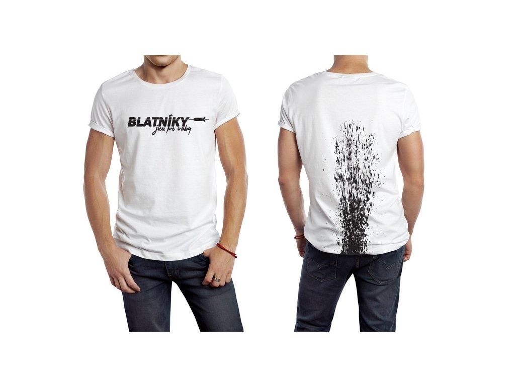 VÝPRODEJ: Limetkové tričko velikosti L pro cyklisty bez blatníků