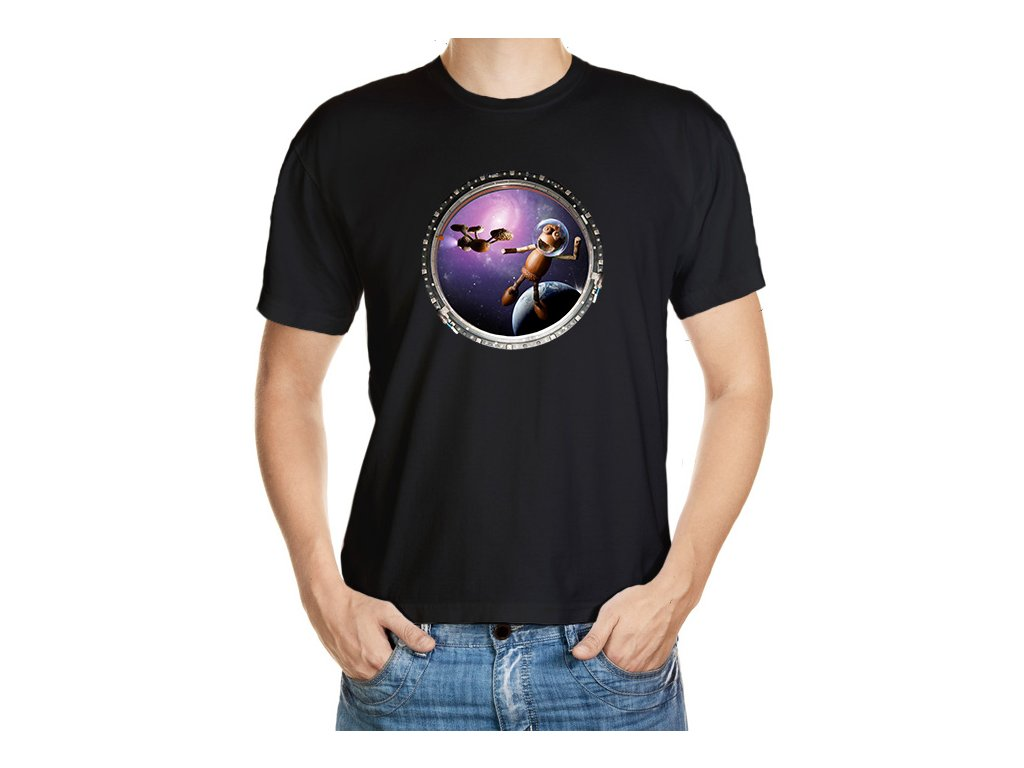 triko kosmonaut black
