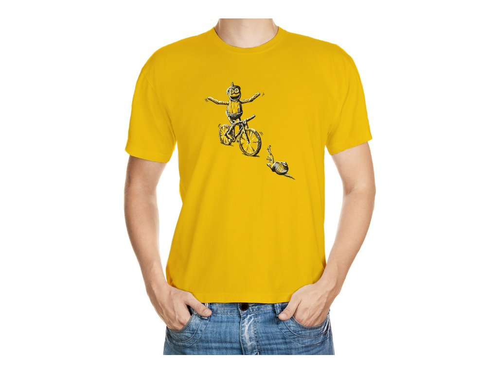 Frajer dubánek na kole
