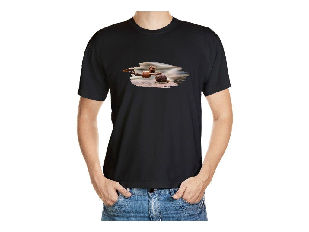 Tričko s dubánkem na šnekovi