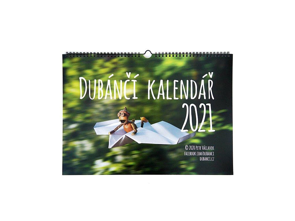 Nástěnný kalendář s dubánky 2021
